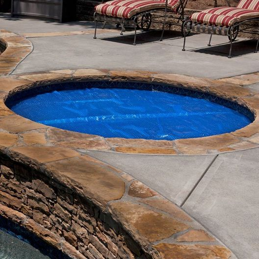 Midwest Canvas  28 Round Blue Solar Cover Supreme 5 Year Warranty 12 Mil