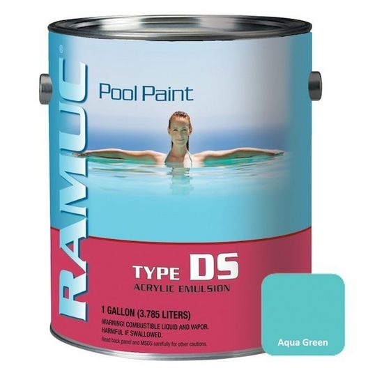 Ramuc - Type DS Acrylic Pool Paint, 1 Gallon, Dawn Blue - DS32801 - 313394