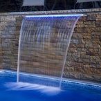 "Brilliant Wonders Waterfall, 48"" Back Port"