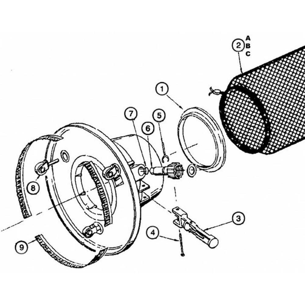 Pentair Leaf Eater: Model 185 Vacuums & Leaf Traps image
