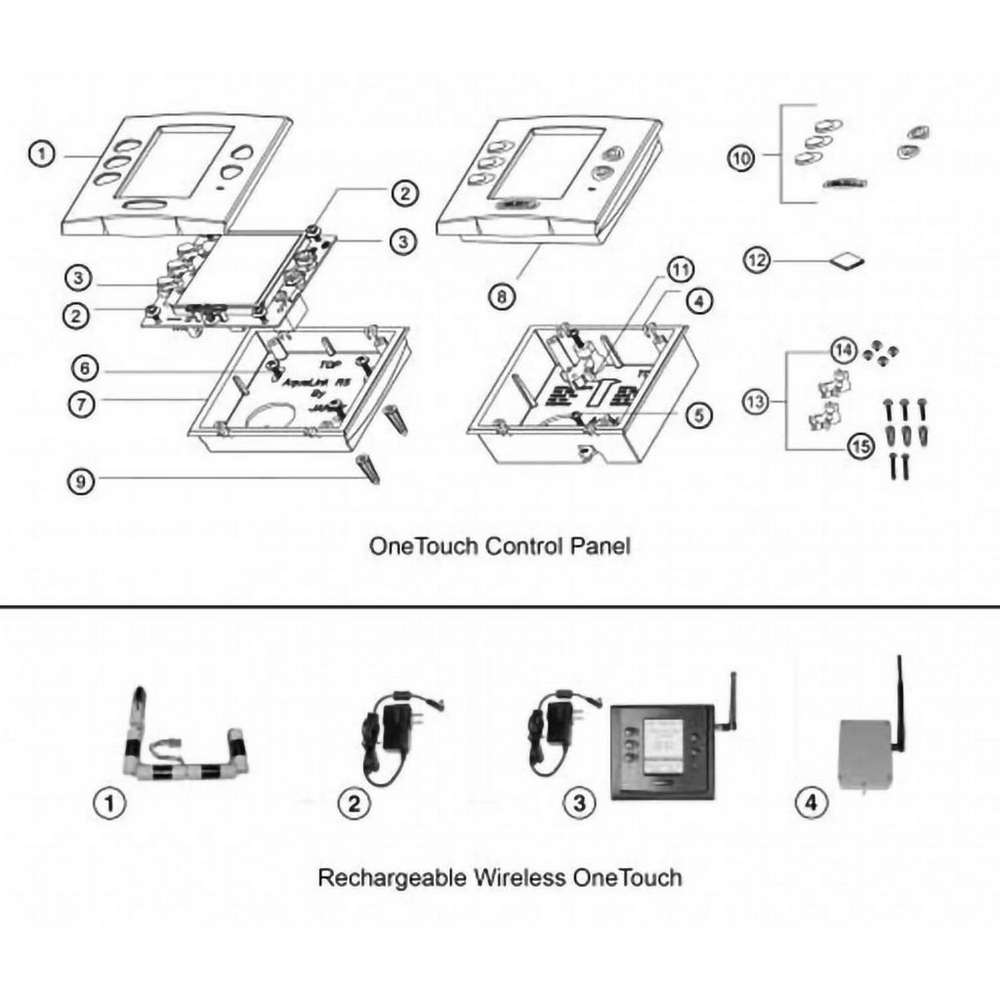 Jandy OneTouch Control Panel Series image