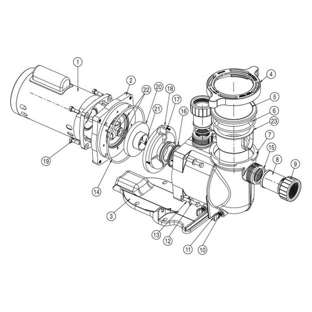 Sta-Rite SuperMax Pump image