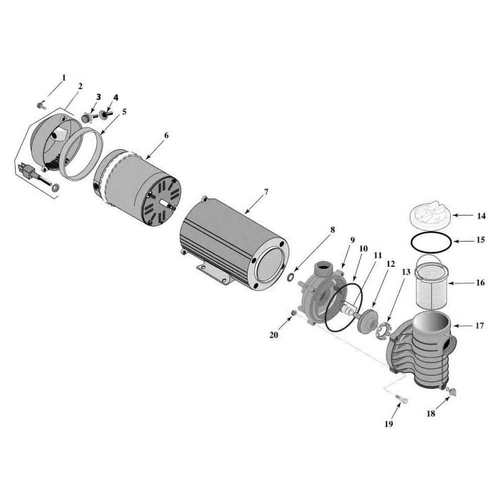 Sta-Rite ABG Series ABG Series w/Canopy & 25 Cord image