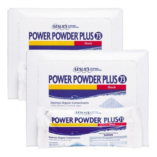 Power Powder Plus Flagship Pool Shock and Super-Chlorinator, 6 Pack