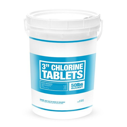 3 Inch Economy Line Chlorine Tablets
