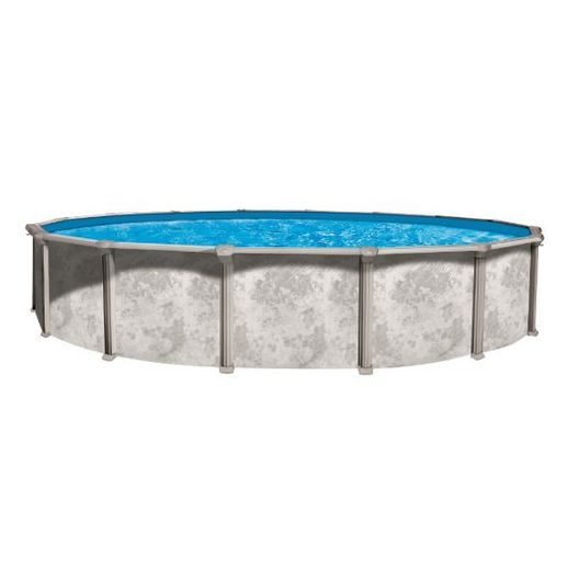 "Ambassador 12' Round 52"" Tall Above Ground Pool Wall"