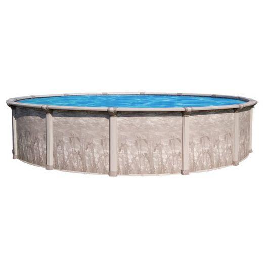 "Marina 24' Round 52"" Tall Above Ground Pool Wall"