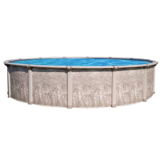 Marina Above Ground Pool Wall with Skimmer