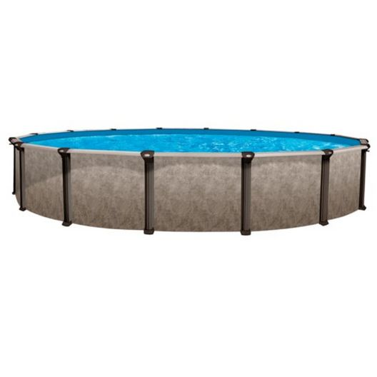"""Epic 15 x 24 Oval 52"""" Tall Above Ground Pool Wall"""