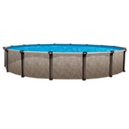 "18' Round Above Ground Pool with 52"" Wall"