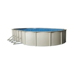 "12' x 18' Oval Above Ground Pool with 52"" Wall"