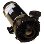 Waterway Spa Pump, Hi-Flo Series, 1.0 HP, 120v, 2 inch Side Discharge, 1 or 2 speed, 48 frame