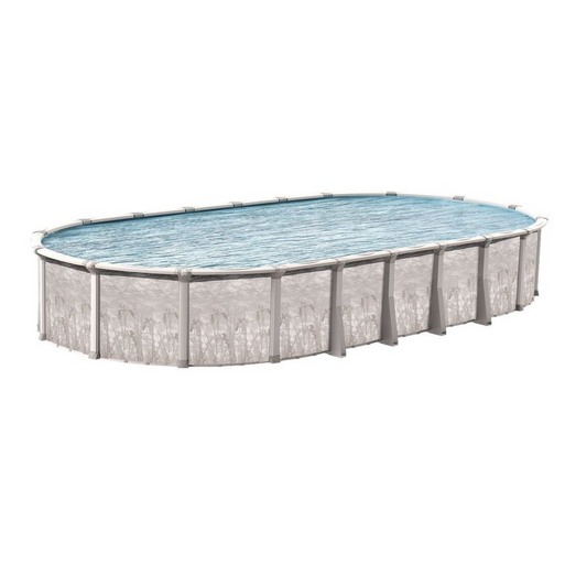 """Venture Basic Kit 15 x 30 Oval 52"""" Above Ground Pool with Liner, Filter System, Ladder - B-268937"""