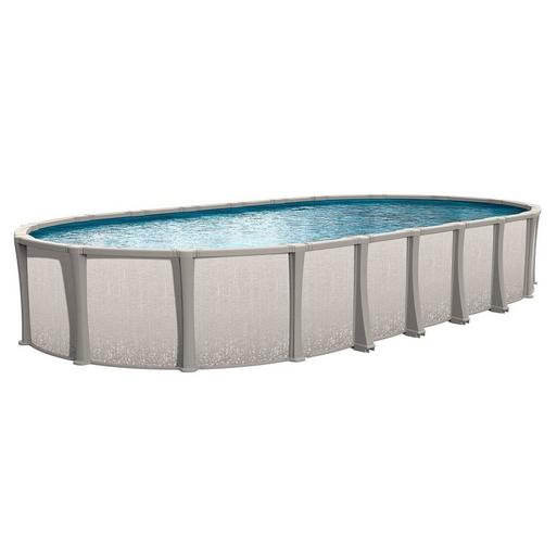 """Matrix Basic Kit 15 x 26 Oval 54"""" Above Ground Pool with Liner, Filter System, Ladder - B-268946"""