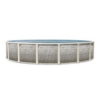 "30' Round Above Ground Pool with 52"" Wall"