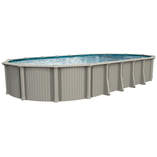 "Excursion Basic Kit 18 x 33 Oval 54"" Above Ground Pool with Liner, Filter System, Ladder - B-452655"
