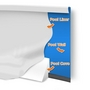 PC1840OV 18' x 40' Oval Above Ground Pool Peel and Stick Liner Cove Protection Kit