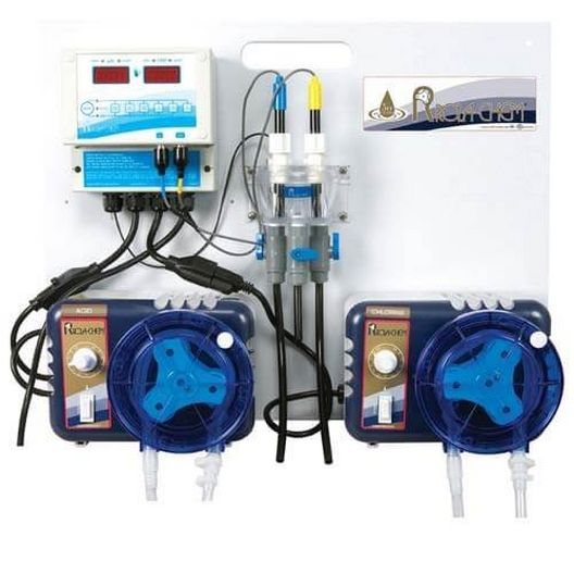 Liquid Feed System w/ 2X 32GPD Pumps