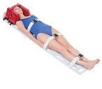 Deluxe Board with Head Immobilizer (pictured)