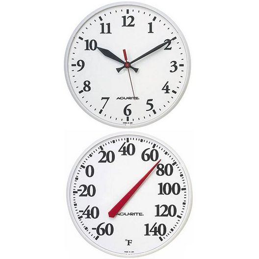 Clock/Thermometer Set