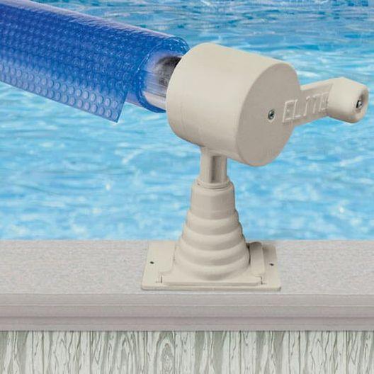 AquaSplash Above Ground Solar Cover Reel up to 18 ft.