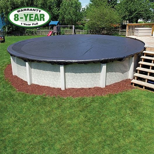 18' Round Pool / 21' Round Cover / 30 Clips