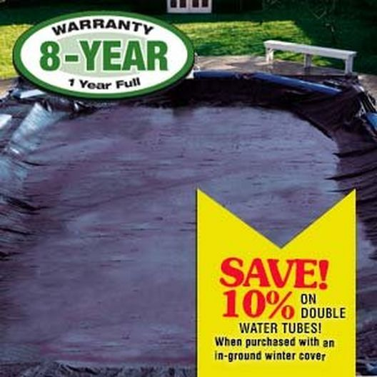 Economy Winter Pool Cover 30x50 ft Rectangle