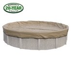 Polar Protector Winter Pool Cover 12x24 ft Oval