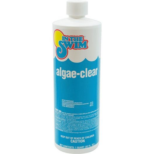 Algae Clear Algaecide + Clarifier 1 qt. - 400212