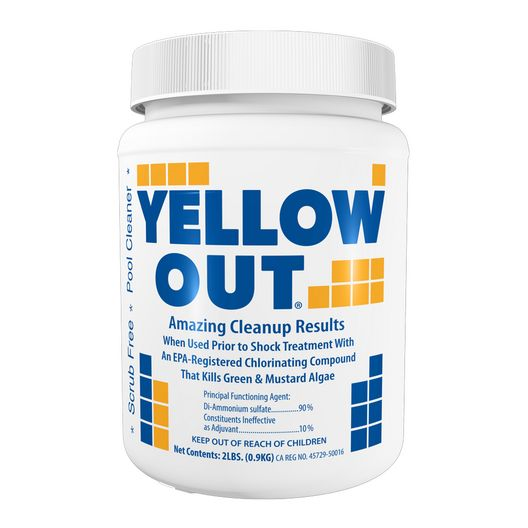 Yellow Out Pool Sanitizer, 4 lbs