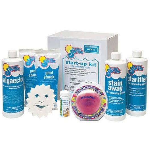 Basic Pool Opening Kit & Spring Pill - Up To 7,500 Gallons - B-Y9900