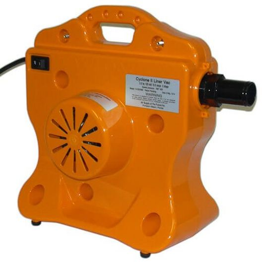 Cyclone 3 HP Liner Vacuum and Pool Line Blower