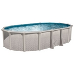 "Sharkline Heritage 18 x 33 Oval 52"" Tall Above Ground Pool"
