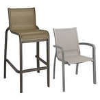 Sunset Commercial Grade Outdoor Chairs and Barstools