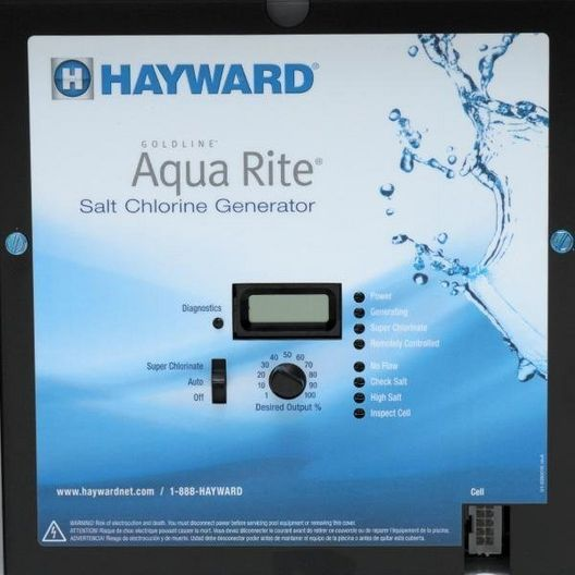 Hayward - W3AQR9 - Complete Salt System up to 25,000 Gallons - Limited Warranty - 340066