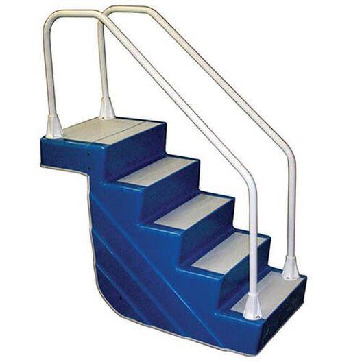 ADA EZ Stair 5-Step with rails - Light Blue - 404236