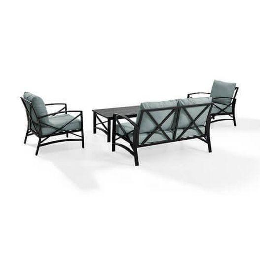 Kaplan 4-Pc Outdoor Seating Set - MASTER-prod1720008