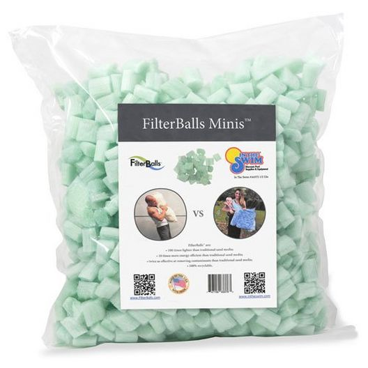 FilterBalls Blu 10 1 Cubic Ft of Media - 386600