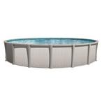 """Sharkline Matrix 24' Round 54"""" Tall Above Ground Pool - Salt Friendly"""