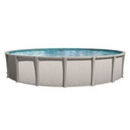 "Sharkline Matrix 28' Round 54"" Tall Above Ground Pool - Salt Friendly"