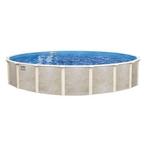 "Lomart Montessa 18' Round 52"" Tall Above Ground Pool - Salt Friendly"