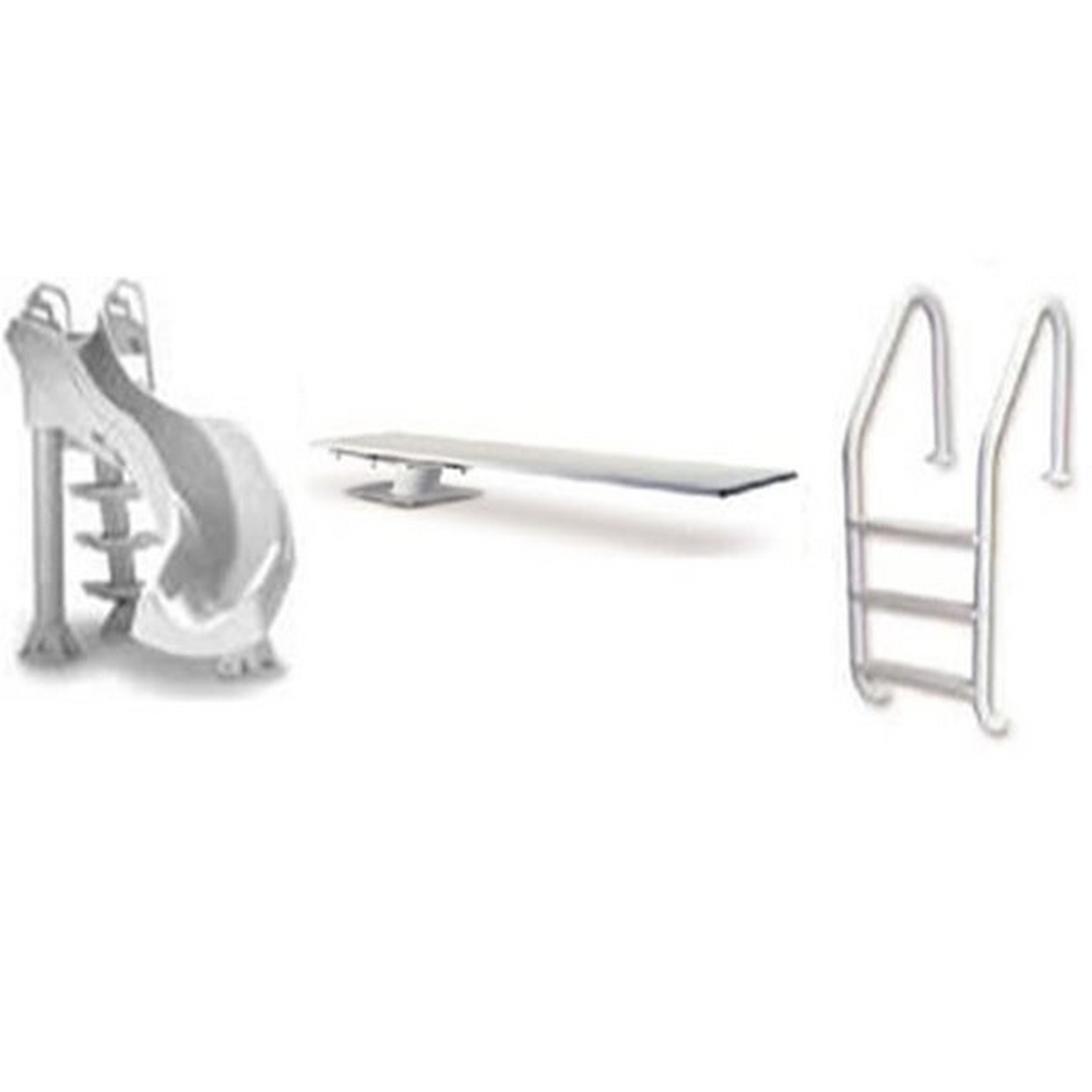 Anthony Pools 3 Hole Diving Board Parts and Diving Stand Parts image