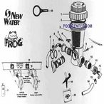 Frog / New Water In-Ground Model 600 Feeder Parts