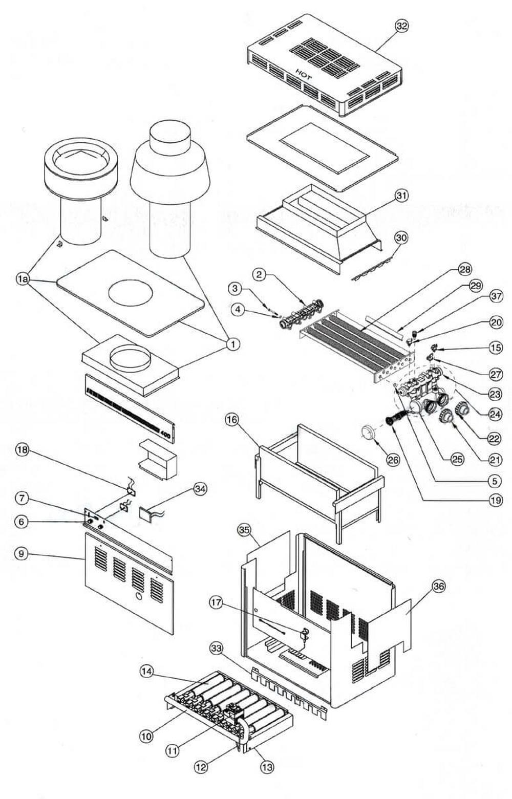 Purex Minimax CH Heater Page 1 image