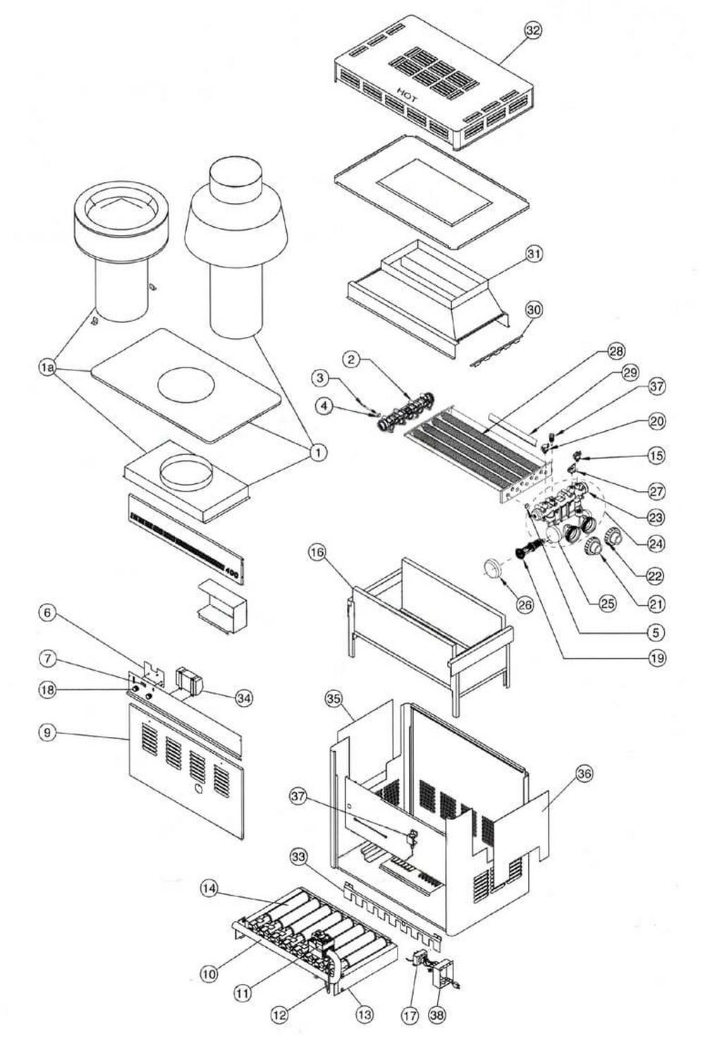 Purex Minimax CH 150 IID Heater image