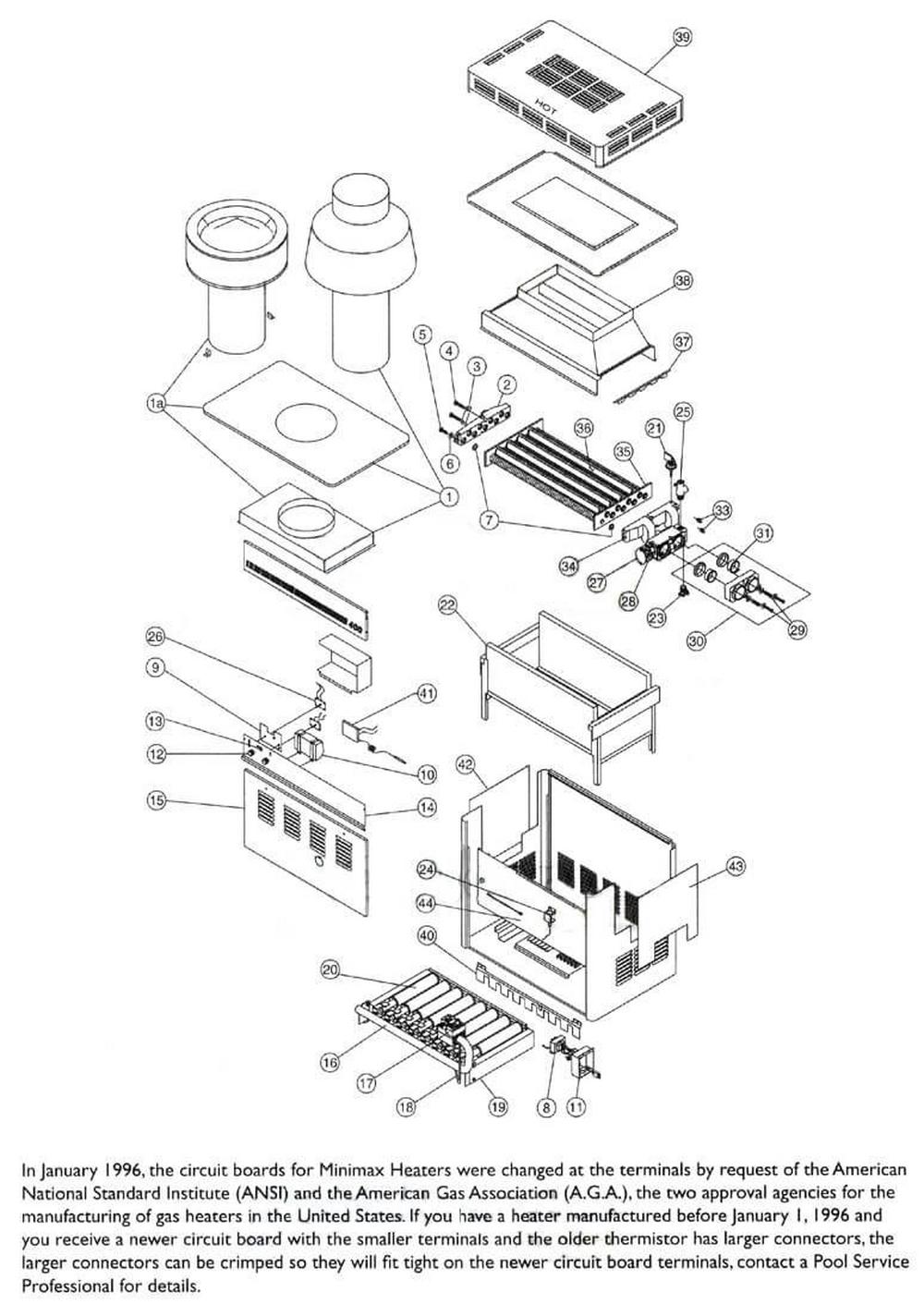 Purex Minimax Plus Heater Page 1 image