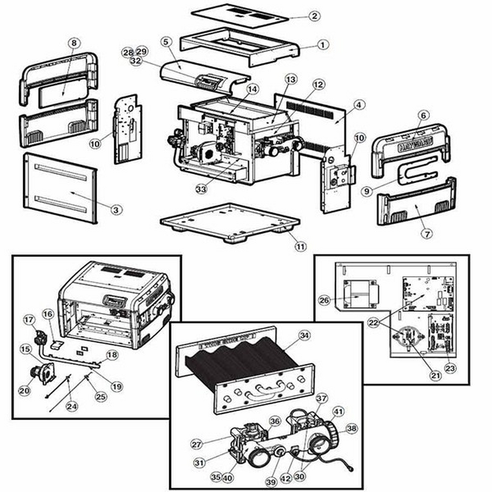 Universal H-Series Low NOx Parts Page 3 image