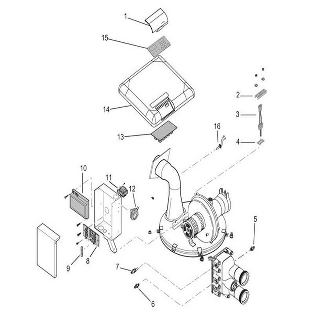 Pentair MasterTemp Heater Parts Electrical System image