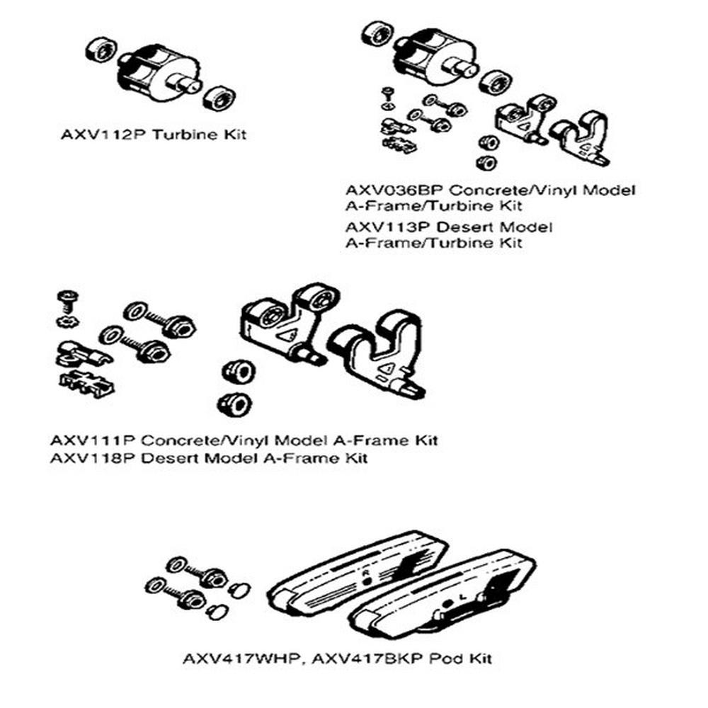 Navigator Parts Kits image