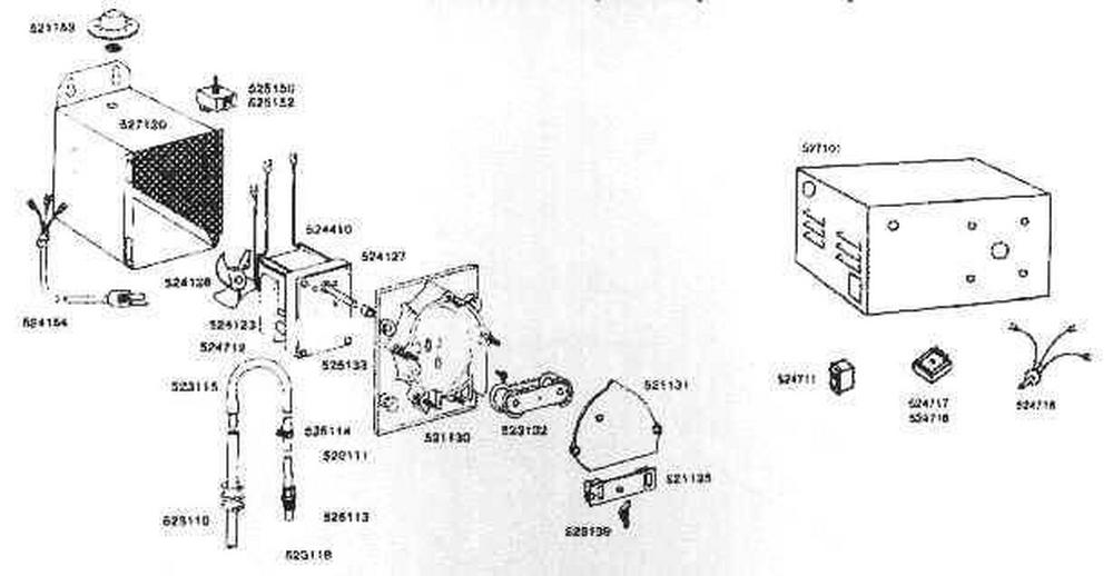 Rola-Chem RC-100 Interrupter Model Chlorinator Parts image